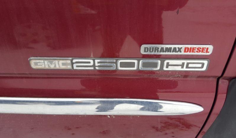 2005 GMC 2500HD SIERRA 4WD Plow Truck full