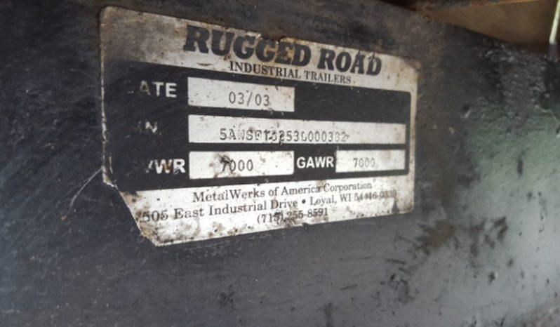 18 Foot Rugged Road Trailer full