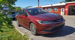2016 Chrysler 200 4D Luxury Touring Sedan