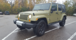 2013 Commando Green Jeep Wrangler Sahara