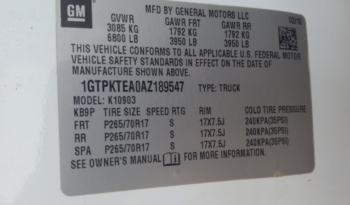 2010 GMC Sierra 1500 Half Ton Pick Up full