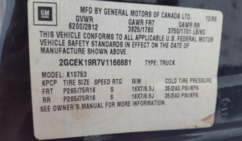 1997 GMC Sierra 4WD Pick Up full