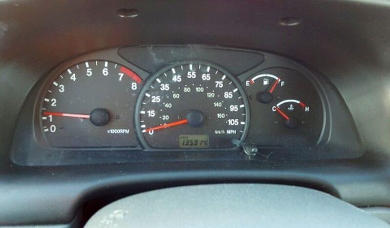 2001 Chevrolet Tracker full